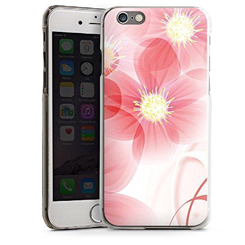 Apple iPhone 5 Housse Étui Silicone Coque Protection Fleur Fleur Fleur CasDur transparent