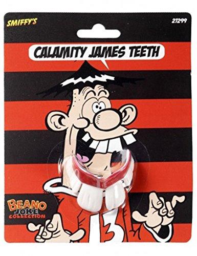 1x Gebiss *LUSTIGE ZÄHNE* zum Verkleiden für Karneval oder eine Motto-Party // 4976D // Fasching Halloween Kinder Geburtstag Kindergeburtstag Motto Party Kostüm Verkleidung Funny Teeth Denti Comici