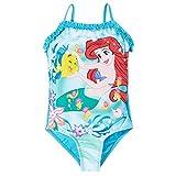 Maillot de bain 1 pièce fille Ariel la petite sirène Bleu de 2 à 8ans