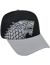 Game Of Thrones Stark House Wolf Logo Snapback Baseball Cap