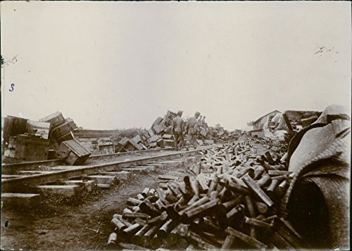 vintage-photo-of-russian-ammunition-left-by-the-railroad-in-liaodong-peninsula