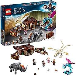 LEGO 75952 Fantastic Beasts La valise des animaux fantastiques de Norbert Jeu de construction 8 Ans et Plus, Jouet pour Fille et Garçon 694 Pièces
