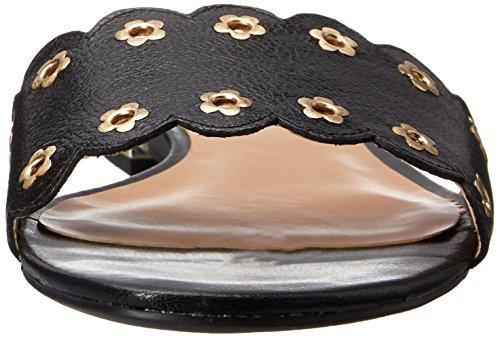 Nine West Frogprince Leather Sandal Black