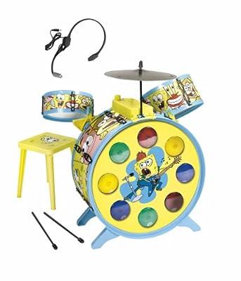 Bob Esponja - Bateria Con Luz (Simba) 9499495 de Simba Toys