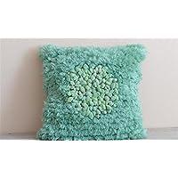 Mano tiro Realizzato cuscino Zipper rimovibile federa morbida Protezione Ambientale molti colori Avaliable casa decorativo per Living Room Divano sedia auto , 45*45cm