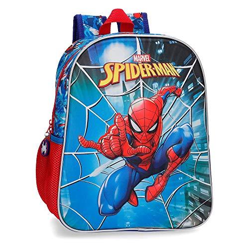 Marvel Spiderman Street Kinder-Rucksack 33 Centimeters 9.8000000000000007 Mehrfarbig (Multicolor)
