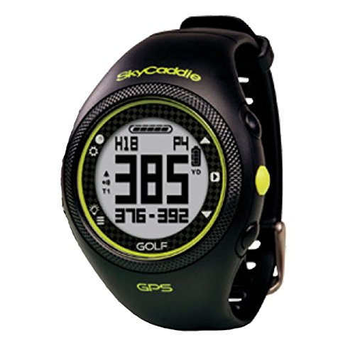 NEW SKY CADDIE SPORT HYBRID GPS / SPORTS WATCH BLACK / BLACK NO FEES