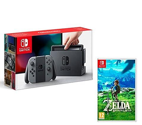 Nintendo Switch 32Gb Grau + The Legend of Zelda: Breath
