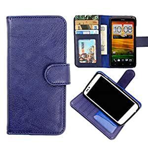 DooDa PU Leather Wallet Flip Case Cover With Card & ID Slots & Magnetic Closure For Samsung Galaxy A7