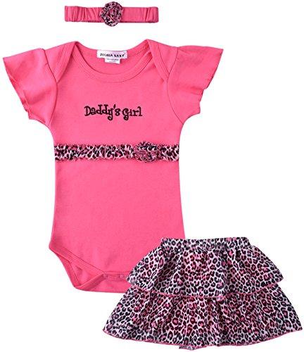 ZOEREA 3 pezzo Abito Bimba Bambina che coprono insieme Body & Gonna & Copricapo delle neonate del vestito dal tutu bambino Vestitini per il Battesimo Matrimonio