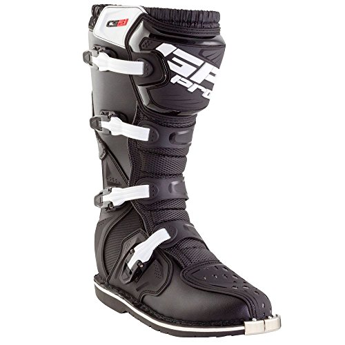 GP-PRO Comp Serie 2.1 Motocross Stiefel Schwarz Stahlkappe Off Road Enduro New