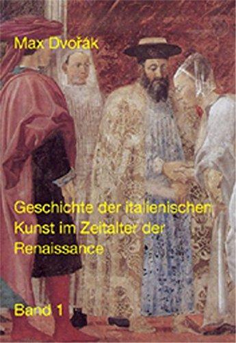 Geschichte der italienischen Kunst im Zeitalter der Renaissance.