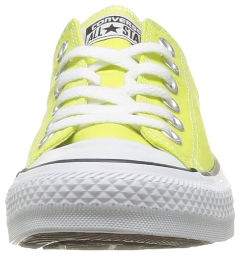 Converse Ctas Core Ox, Baskets mode mixte adulte Jaune (Citronelle)