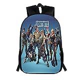 Fort Battle Royale Backpack, School Backpack Fashion Schoolbag for Kids Girls Boys,Game Fans Gift(E6)