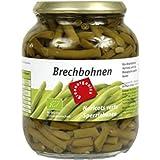 Produkt-Bild: green Brechbohnen im Glas (660 g) - Bio