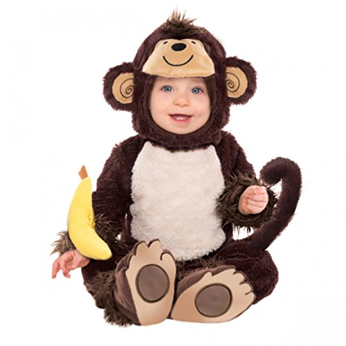Animal Toddler Monkey Fancy Dress Book Halloween Boys Girls Kids Costume