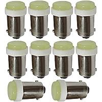 AERZETIX: 10 x Bombilla T4W T5W BA9s 12V LED efecto xenón luz blanca iluminación en