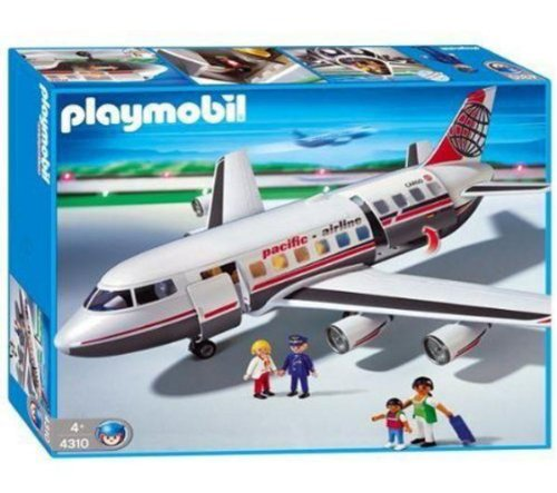 Playmobil - 4310 - Jeu de construction - Commandant / passagers /...