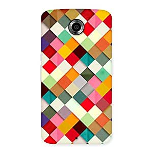 Premium Color Ribbons Back Case Cover for Nexsus 6