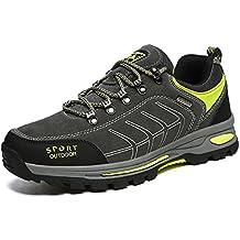Eagsouni® Zapatos de Trekking y Senderismo Para Hombre Zapatillas de Deportes Exterior Boats Escalada Sneakers