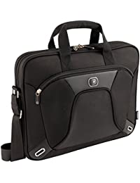 "Wenger 600644 ADMINISTRATOR 15.4"" MacBook Pro Slimcase, Padded laptop compartment with iPad/Tablet/eReader Pocket in Black (6 Litres)"