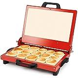 G3Ferrari g10025tigella Mia tigel leria y sandwichera Potencia 1200W color rojo