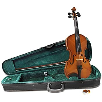 Windsor 1/4 Size Violin Outfit Includes Lightweight Zipped Case With Shoulder Strap