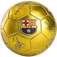 XFF Barcellona ha Autorizzato la Sezione 5 della Firma della Messi per Il Calcio di Allenamento per la Scuola primaria e secondaria per Bambini,d'oro,Centimetro