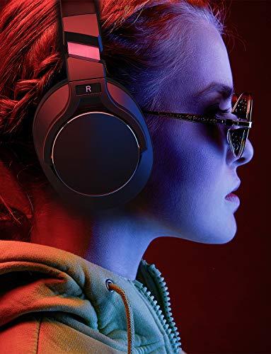 Mixcder E8 Aktive Geräuschunterdrückung Bluetooth Kopfhörer mit Mikrofon Active Noise Cancelling Kopfhörer Drahtloser Über-Ohr-Kopfhörer mit Stereoton,Faltbar, Kabelloses Headset mit Tiefem Bass - 6