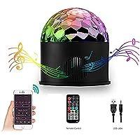 Disco Light Bluetooth Speaker, AOMEES Disco Lights for Kids Disco Ball Light Rotating