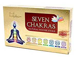 Set de incienso 7 chakras,