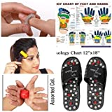 #10: Acupressure Massage Slippers Leg Foot Massager