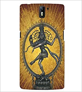 ONE PLUS ONE LORD NATRAJ Designer Back Cover Case By PRINTSWAG