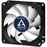 ARCTIC F8 Silent, 80 mm flüsterleiser Gehäuselüfter, Case Fan mit Standardgehäuse und Fluid Dynamic Lager