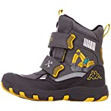 Kappa Unisex-Kinder Road TEX Kids Klassische Stiefel, Grau (Grey/Yellow 1640), 28 EU
