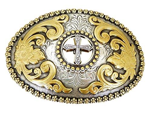 ross Gürtelschnalle Western Buckle Cowboy USA ()