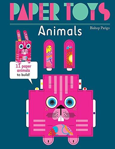 Paper toys, animals par Bishop Parigo
