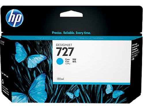 Preisvergleich Produktbild HP 727 Cyan Designjet Tintenpatrone, 130ml