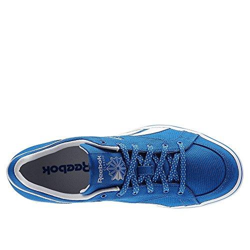 Reebok Lc Court Vulc Low, Chaussures de Sport Homme Bleu / blanc (bleu sport / blanc)