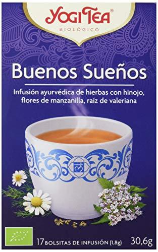 Yogi Tea Infusión de Hierbas Good Night - 17 bolsitas - [confezione...