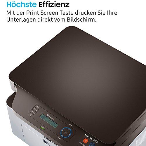 Samsung Xpress SL-M2070/XEC Monolaser-multifunktionsgerät (mit ReCP-Technologie für brillante Ausdrucke) schwarz/silber - 4