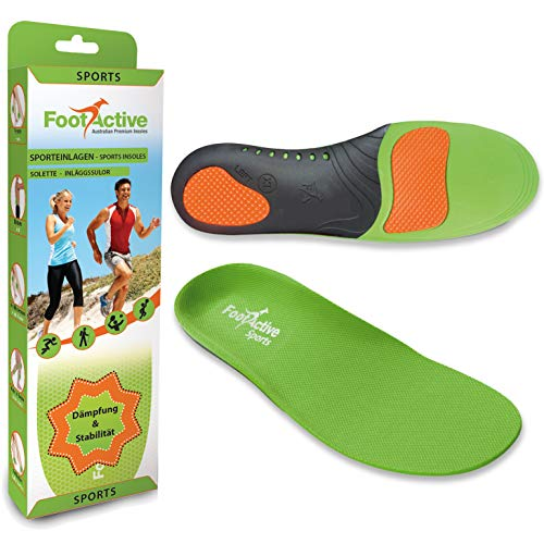 FootActive SPORT - L´ originale - Ideale per lo sport, per lavoro e per la vita quotidiana (44-45 L)