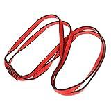 Sharplace Rosso 120cm Fionda Cinghia Arrampicata Imbracatura Di Alpinismo Accesorio Esterno