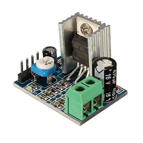 ROUHO Tda2030A 6-12V Ac/Dc Single Power Supply Audio Amplifier Board Module - 6v Ac-receiver