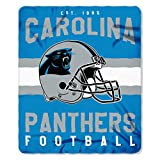 Carolina Panthers Offizielle NFL Decke, Fleecedecke in 127 x 152 cm