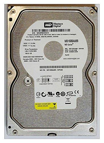 160GB HDD Western Digital WD1600AABB WD Caviar IDE ID16612