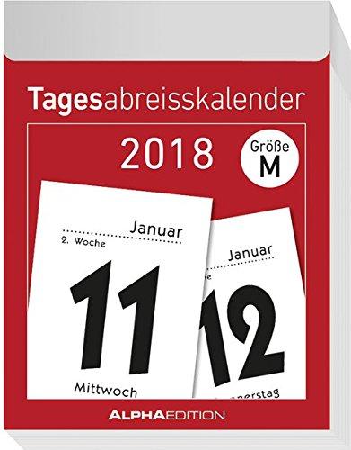 Produktbild Tagesabreißkalender S 2018 - (4 x 6)