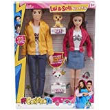 Me Contro Te Fashion Doll Lui e Sofi + Coppia di Cani Kira e Ray
