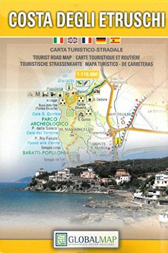 Costa degli etruschi 1:110.000 por Global Map