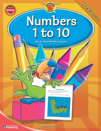 Brighter Child Numbers 1 to 10, Preschool (Brighter Child Workbooks)